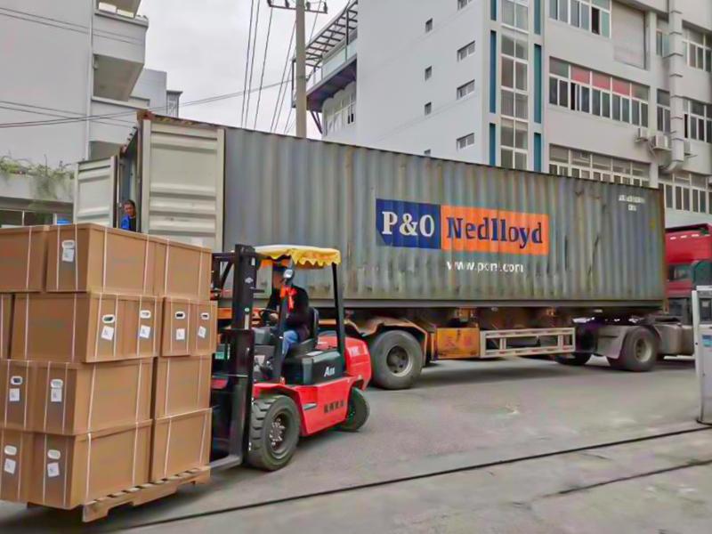 货物运输现场